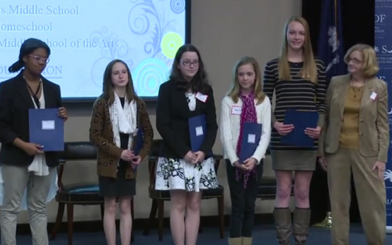 Art and Essay Contest Award Ceremony